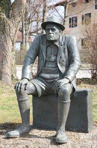 Oskar Marie Graf wurde in Berg am am Starnberger geboren